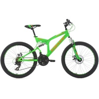 KS-CYCLING Xtraxx 24 Zoll RH 43 cm grün/orange