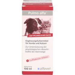 PULMO ALFA Ergänzungsfutterm.flüss.f.Hunde/Katzen 100 ml
