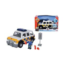 SIMBA Spielfigur Feuerwehrmann Sam Polizeiauto 4x4 mit Figur