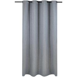 Vorhang Dimout, Kutti, Ösen (1 Stück), Vorhang Dimout grau 140 cm x 175 cm