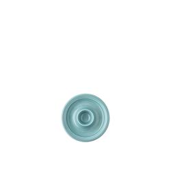 Thomas Eierbecher Trend Colour Ice Blue Eierbecher mit Ablage, Eierbecher