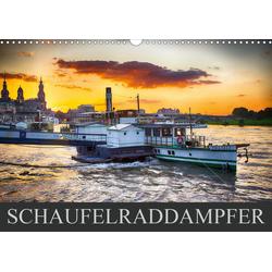 Schaufelraddampfer (Wandkalender 2021 DIN A3 quer)