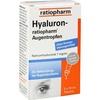 Ratiopharm HYALURON ratiopharm Augentropfen 2X10 ml