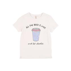 KIDS ONLY Shirt 'KONCINA LIFE' weiß, Größe 134/140, 4692358
