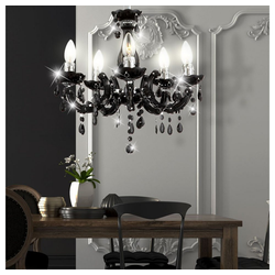 etc-shop Kronleuchter, Hängeleuchte Hängelampe Kronleuchter Beleuchtung Lampe Leuchte