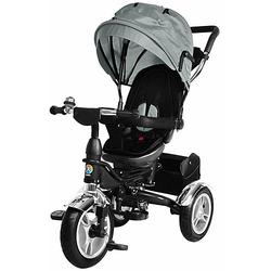 Kinder Dreirad KSF10 Schieber grau