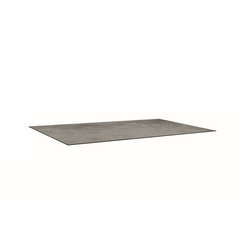 Stern Gartentischplatte Silverstar 2.0 in Zement-Optik