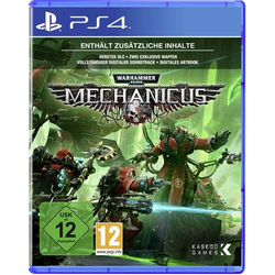 Warhammer 40,000: Mechanicus PS4 USK: 12