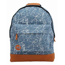 Rucksack MI-PAC - Denim Squiggle Mid Blue/White (009)