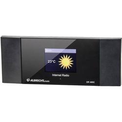 Albrecht DR 460-C Internet Radio-Adapter Internet Internetradio DLNA-fähig Schwarz