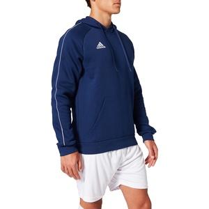 adidas Herren CORE18 Hoody Sweatshirt, Dark Blue/White, M