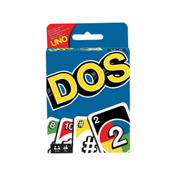 Mattel® Spiel, Mattel FRM36 - UNO - DOS, Kartenspiel