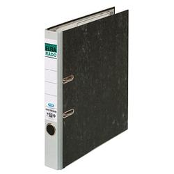 ELBA rado Wolkenmarmor Ordner grau marmoriert Karton 5,0 cm DIN A4
