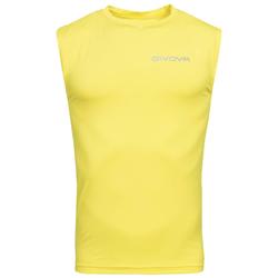 "Funkcjonalna koszulka Givova Tank Top ""Corpus 1"" żółta - S"