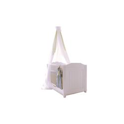 Begabino Kinderbett Cinderella Premium in Kiefer weiß lackiert massiv