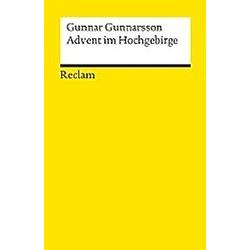 Advent im Hochgebirge. Gunnar Gunnarsson  - Buch