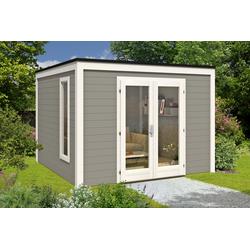 Design Gartenhaus Cubus-3232, ohne Imprägnierung