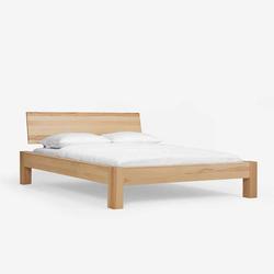 Holz Bett aus Kernbuche massiv geölt