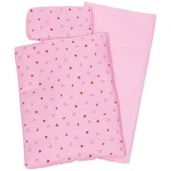 Puppenbettzeug rosa 41 x 31 x 5cm 51861