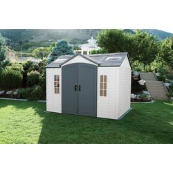 "Lifetime Gerätehaus ""Sky"",lichtgrau,7,44 m²"