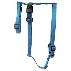 Wolters Geschirr Soft & Safe No Escape aqua Panikgeschirr, Größe: XL