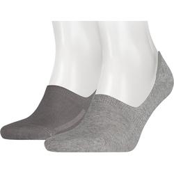 Levi's® Füßlinge Levi's® 2 Paar Füßlinge Socken grau 39-42