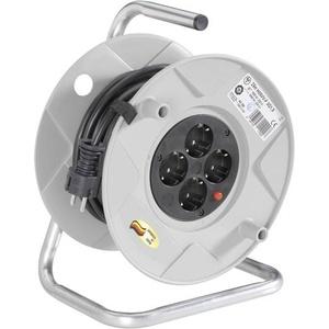 Brennenstuhl 1099150001 Kabeltrommel 25.00m Schwarz Schutzkontakt-Stecker