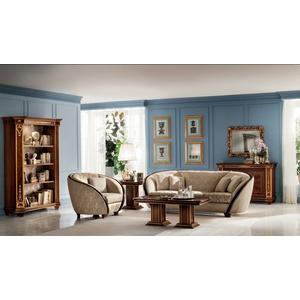 Klassische Couch 1 Sitzer Sessel Fernseh Jugendstil Barock Rokoko Sofa 1er Neu