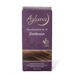 Ayluna Naturkosmetik Haarfarbe - Nr.70 Zimtbraun 100g