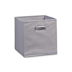 Zeller Aufbewahrungsbox in grau, 32 x 32