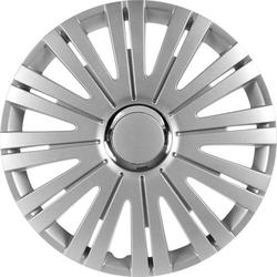 IWH 076007 Radkappen R15 Silber, Chrom 1St.