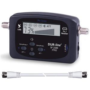 DUR-line NEU - DUR-line® SF 2500 Pro - Satfinder - Besseres SAT-Kabel