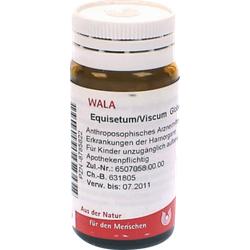 EQUISETUM/VISCUM Globuli 20 g