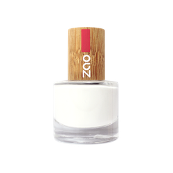 Zao - Bambus Nagellack - Nr. 641 / White French - 8 ml