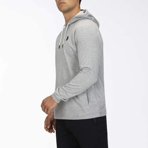 Hurley Herren Pullover M DF Universal Fleece PO, Dk Grey Heather, L, CJ5762
