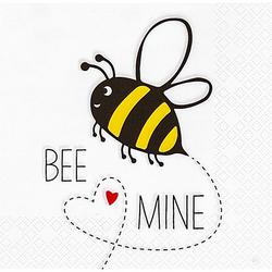 """Papierservietten """"Bee Mine"""", 33 x 33 cm, 20 Stück"""