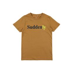 NAME IT T-Shirt 'Suddenly' khaki, Größe 134/140, 4874107