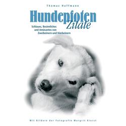 Hundepfoten Zitate Band 2: eBook von Thomas Hoffmann
