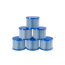 Arebos Pool-Filterkartusche Antimikrobielle Filterkartusche, Zubehör für Whirlpools