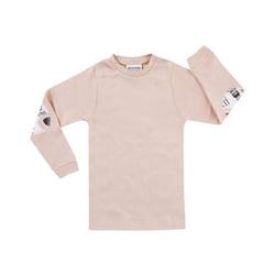 JACKY Unterhemd langarm GIRLS rosa