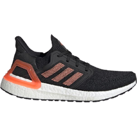 adidas Ultraboost 20 W core black/signal coral/cloud white 40 2/3