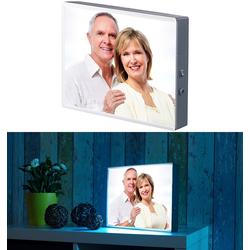 LED-Leuchtkasten für individuelle Bilder auf Folie und Papier, DIN A4