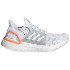 adidas Ultraboost 19 white/ white-orange, 38