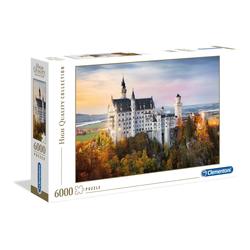 Clementoni® Puzzle Neuschwanstein, 6000 Puzzleteile