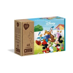 Disney Mickey Mouse Puzzle Puzzle 3 x 48 Teile Play for Future - Disney, Puzzleteile