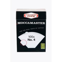 Moccamaster Kaffeefilter Nr. 4 100 Stück