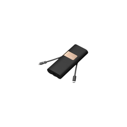 iWalk Secretary + Powerbank 20.000 mAh Quick Charge 3.0 Schwarz
