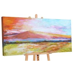 YS-Art Gemälde Goldener Strand 093