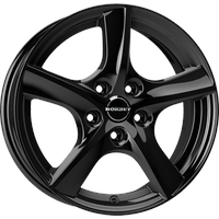 BORBET TL black glossy 6-Speiche 6x15 ET38 - LK5/100 ML57.06 Alufelge schwarz