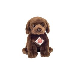 Teddy Hermann® Kuscheltier Labrador sitzend dunkelbraun 25 cm